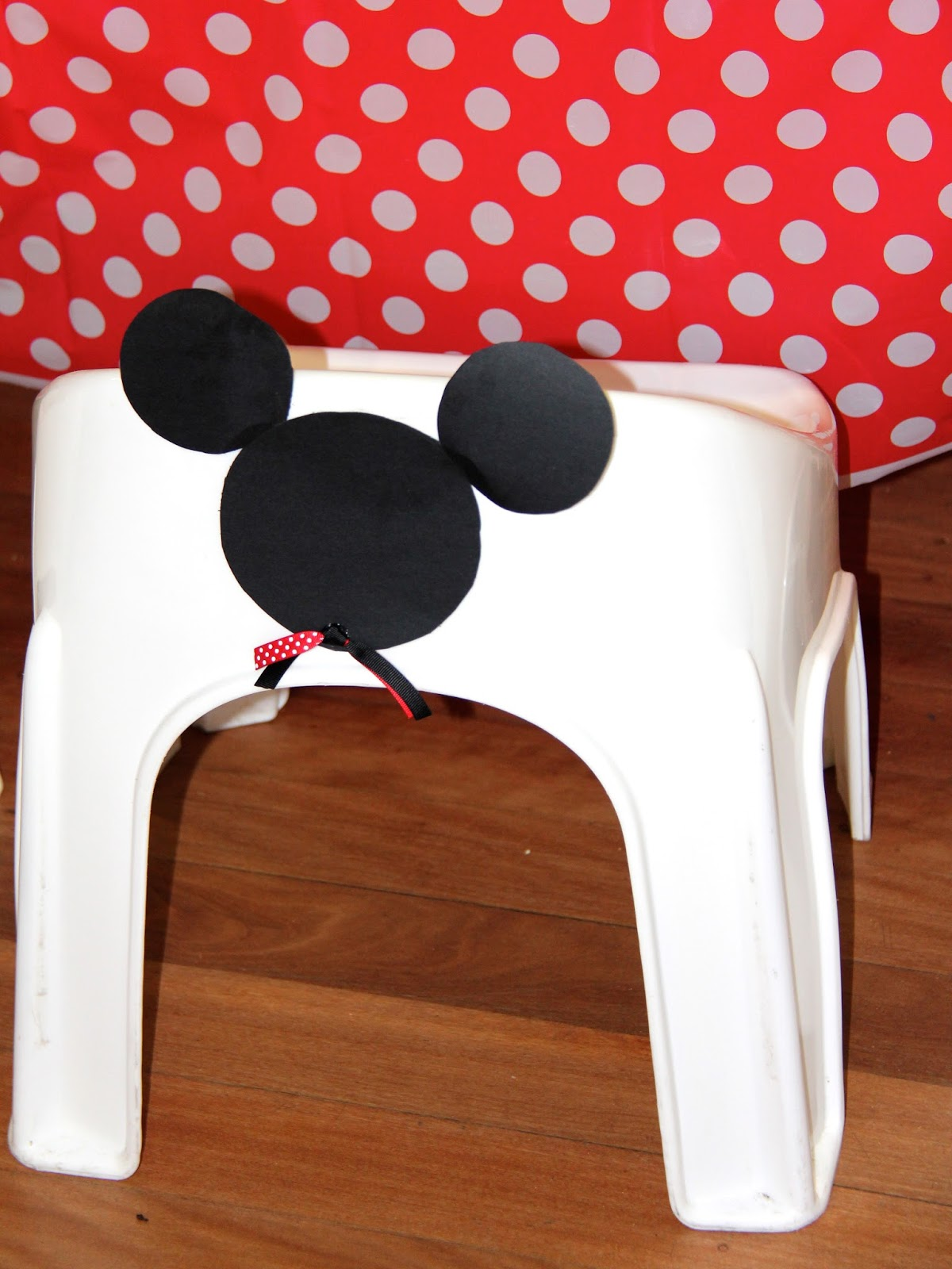 Mickey Mouse High Chair Decorations Outdoor Folding Lounge Kids Party Ideas Themed First Birthday