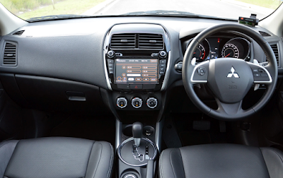 Interior Mitsubishi Outlander Sport Facelift