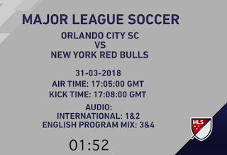 MLS Major League Soccer Biss Key 1 April 2018