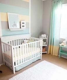 desain box tempat tidur bayi minimalis dari kayu