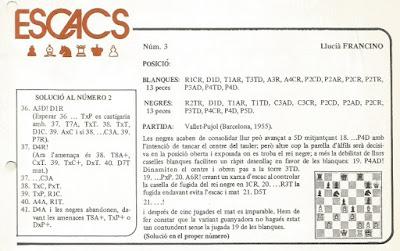 Estudio de Francino en la Revista de l'Orfeó Català de Mèxic