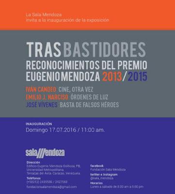 Tras bastidores   Reconocimientos del Premio Eugenio Mendoza 2013-2015