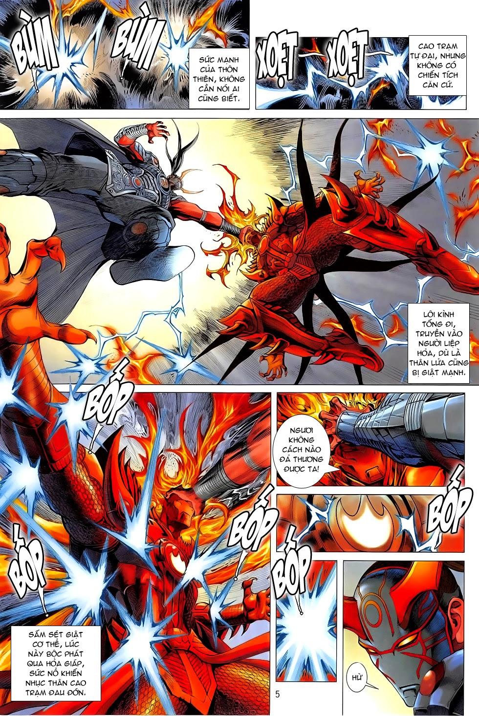 Chiến Phổ chapter 5: lôi hỏa kinh thiên chiến trang 5