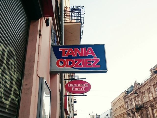 THRIFTING IN KRAKOW, POLAND