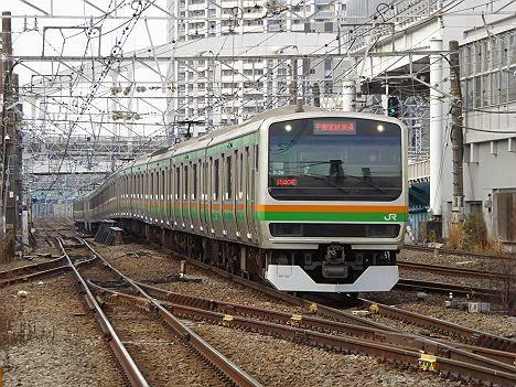 上野東京ライン E231系