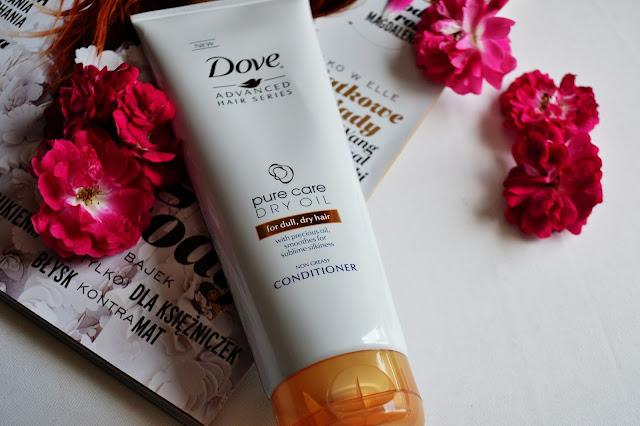 Dove | Pure Care Dry Oil | wygładzająca odżywka do włosów - recenzja