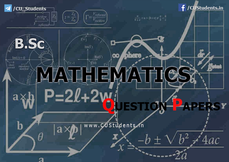 Mathematics Previous Question Papers