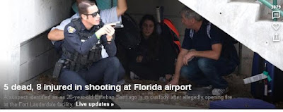 Esteban Santiago, Ft Lauderdale Airport shooting