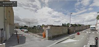 accès au gymnase Colonel de Bange à Versailles pour les cours de taichi chuan