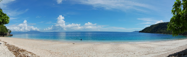 Kanibat Beach на острове Самал, Филиппины