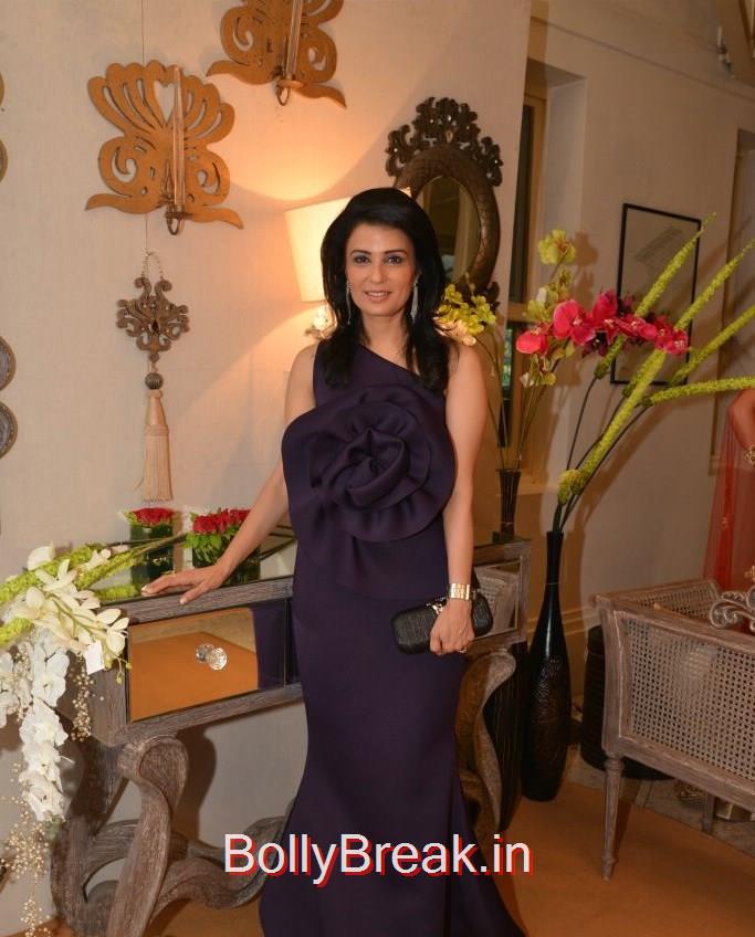 Divya   Gurwara, Anchal, Evelyn, Arpita at Bridal Asia Show Media Preview