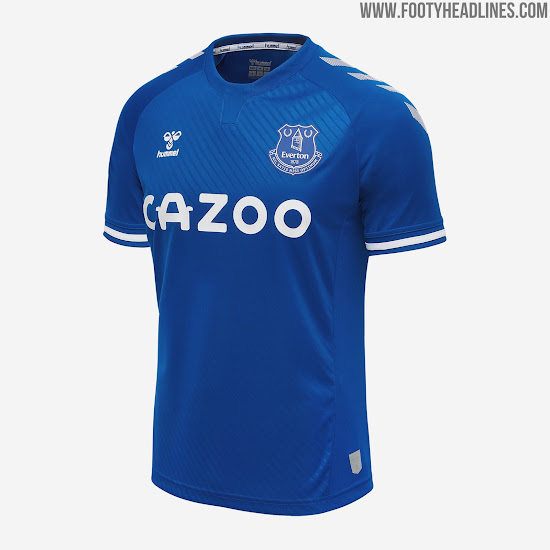 Hummel Everton 20 21 Home Kit Keeper Released No More Umbro Footy Headlines