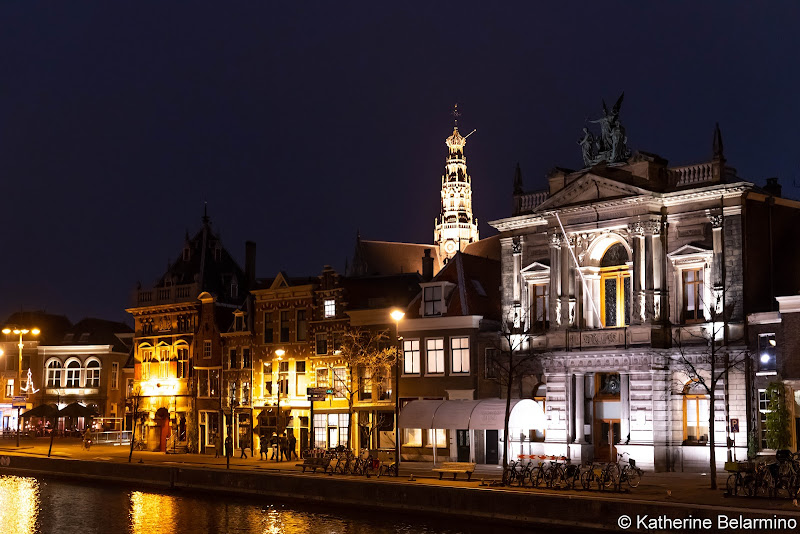 Haarlem at Night Netherlands Day Trips from Amsterdam or Rotterdam