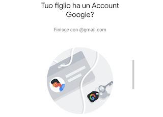 account bambino google