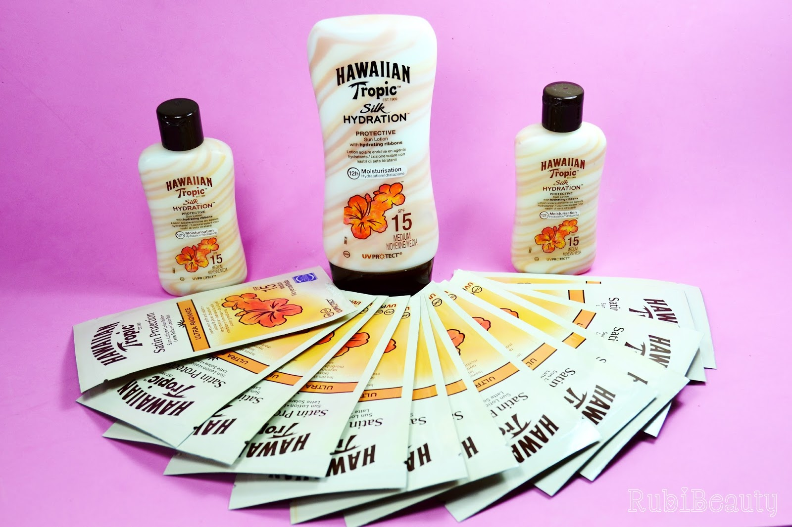rubibeauty review hawaiian tropic silk hydration protector solar trnd