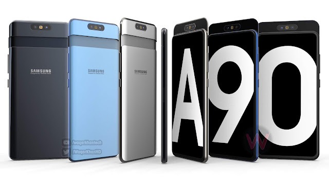 First look of Samsung's upcoming smartphone Galaxy A90