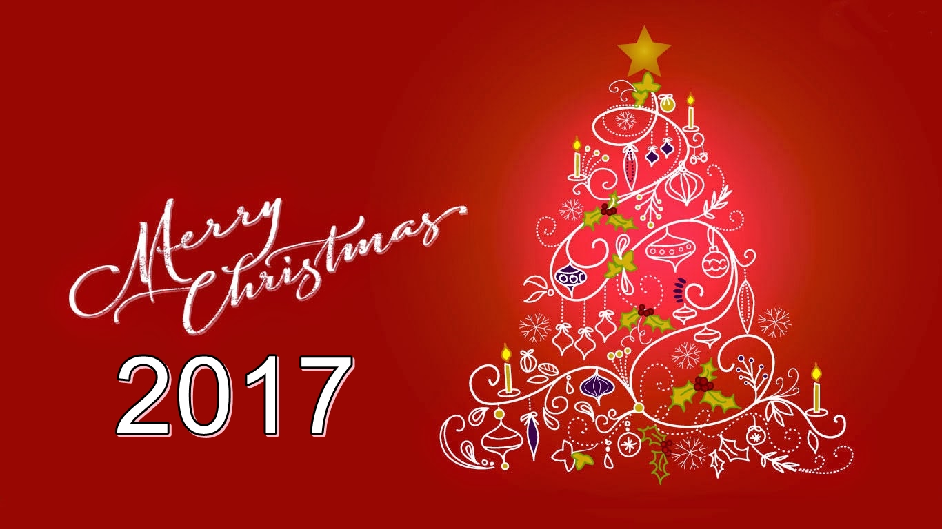 Beautiful Merry Christmas 2017 Wallpapers