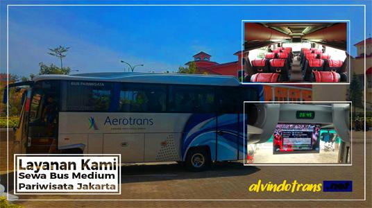 Sewa Bus Medium Pariwisata Jakarta