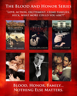 The Blood and Honor series by Dana Delamar