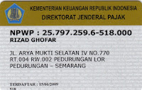 npwp rg