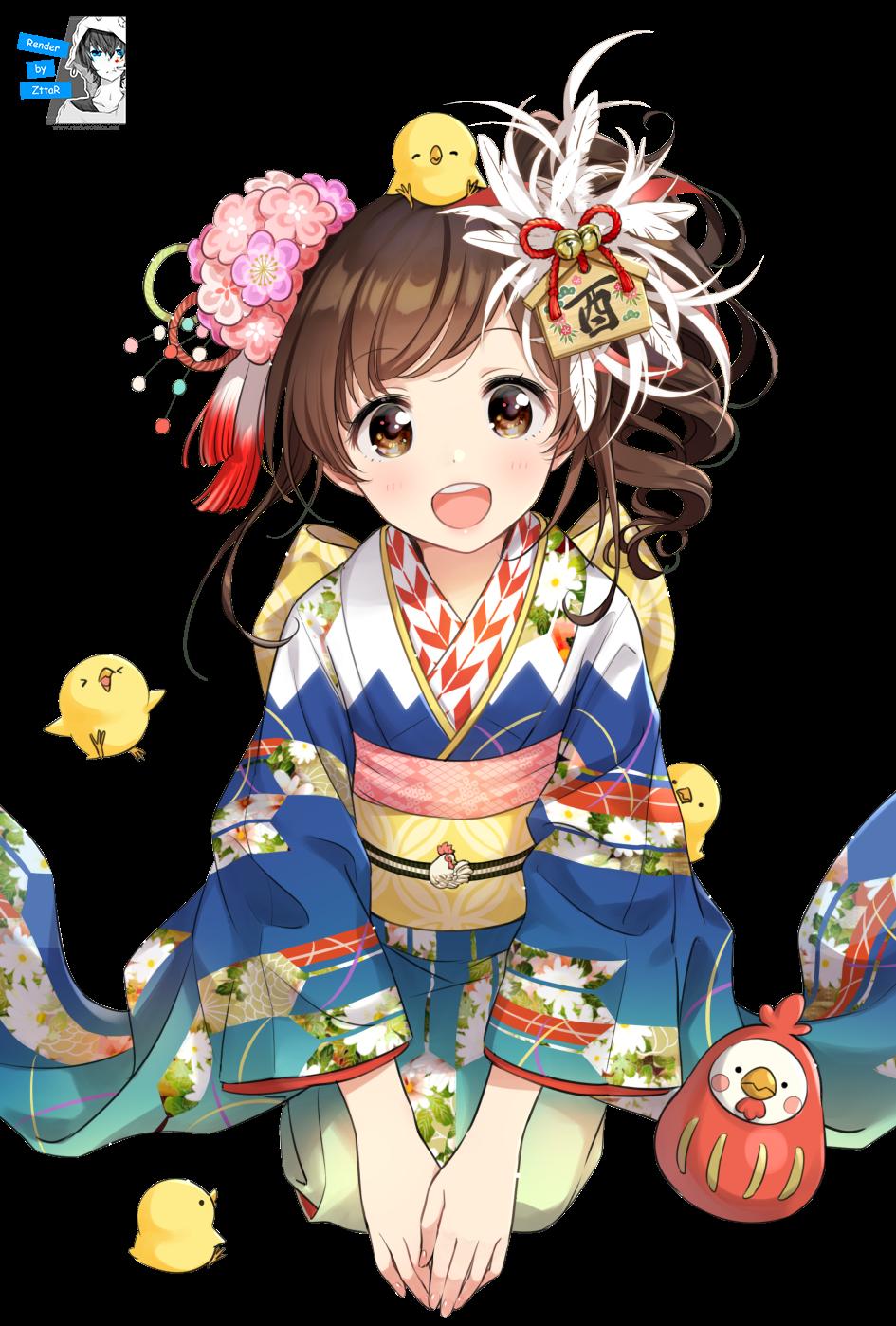 Render Kimono - NEW YEAR