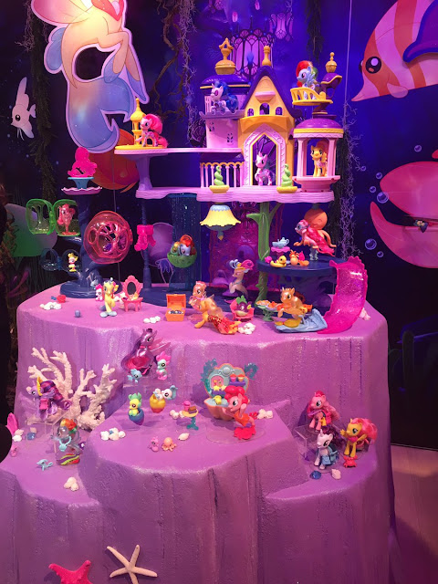 Toy Fair 2017 My Little Pony Sea Pony Brushables