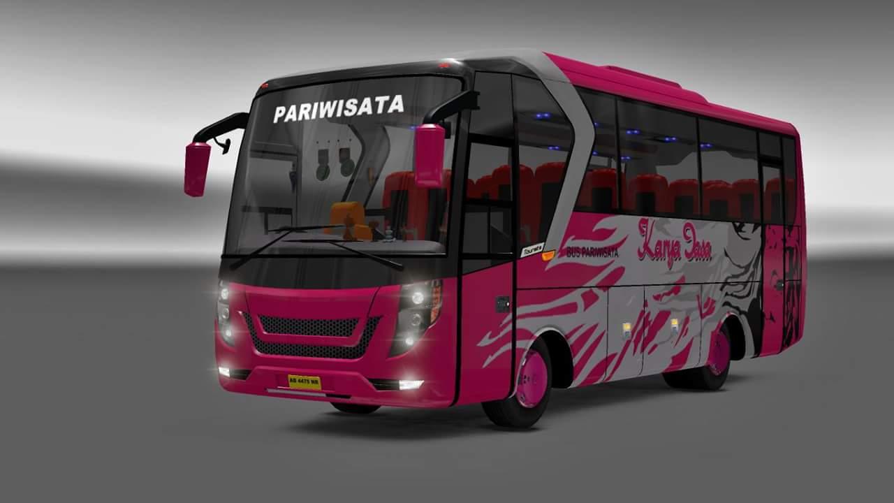 Bus Kecil Laksana Tourista By Agus Cahyono Mod Ets2 Indonesia Euro Truck Simulator 2 V130 Dan Free Ini Adalah Yang Ukuran Busnya Medium Sedang Atau Mini Berbeda Dari Pada Umumnya Berukuran Besar