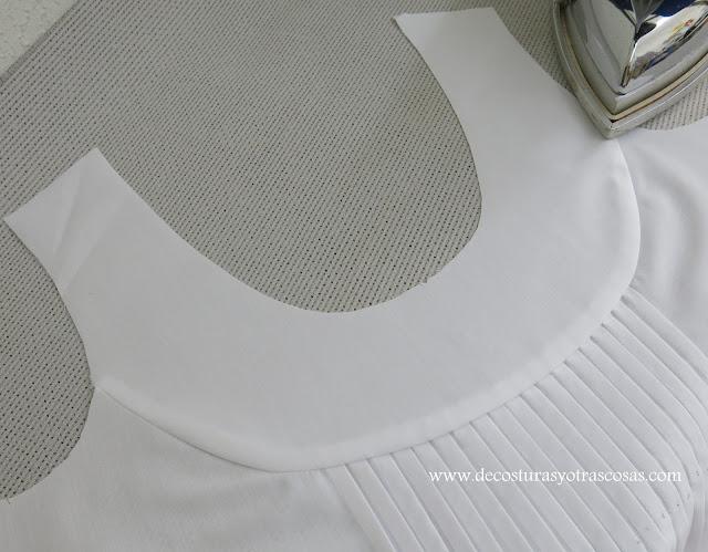 planchar cada costura hecha