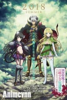 Isekai Maou to Shoukan Shoujo no Dorei Majutsu -  2018 Poster