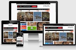 Sora RTL Responsive Arabic Blogger Template Free Download