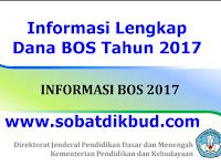 Informasi Lengkap Dana BOS Tahun 2017