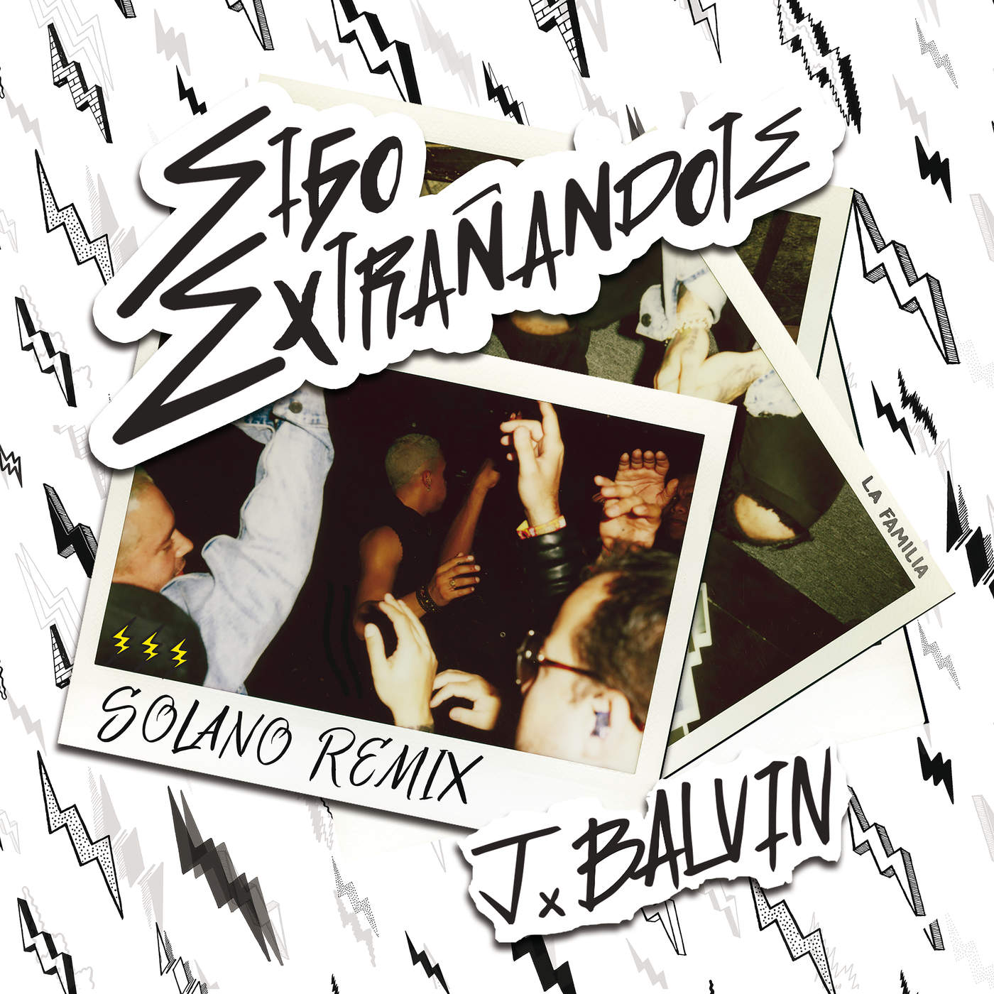 J Balvin - Sigo Extrañándote (Remix) - Single Cover