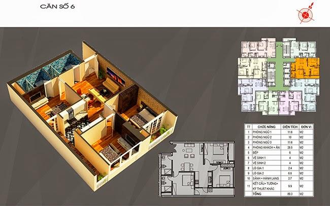 căn hộ 06 chung cư ct number one