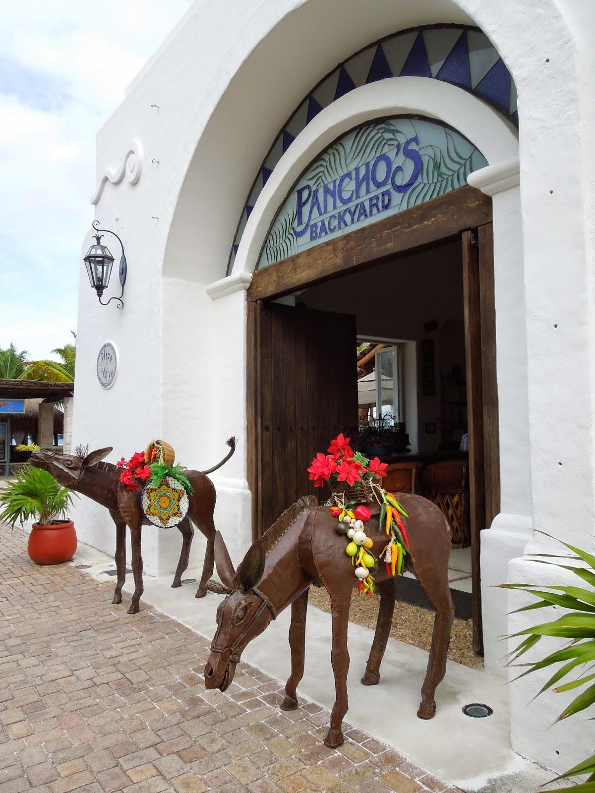 Poncho's Backyard Puerta Maya