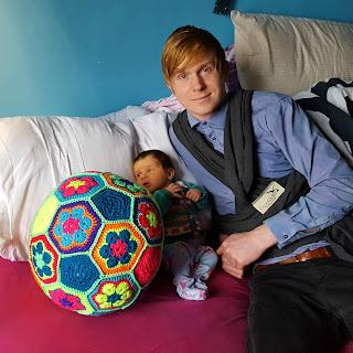 Crochet Baby Ball Dada Neon Crochet