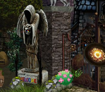 yolkgames halloween scary palace escape walkthrough