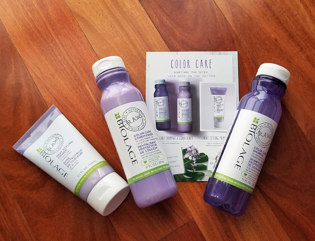 Biolage Raw Color Care Hair Line