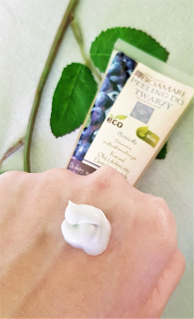 Bioamare peeling do twarzy borówka do skóry suchej lub normalnej