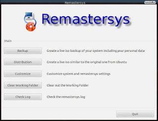 Remastersys Ubuntu Terbaru Work 2015