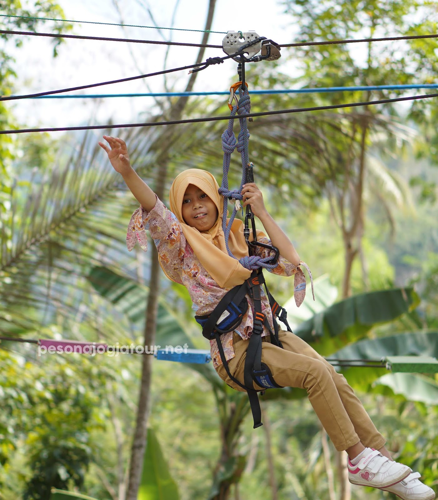 flying fox di pulepayung