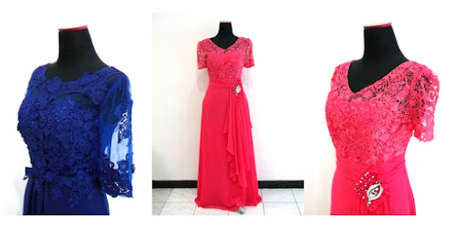 HARGA SEWA DRESS ORGANDI