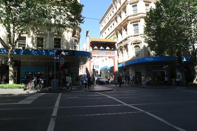 melbourne chinatown, australia