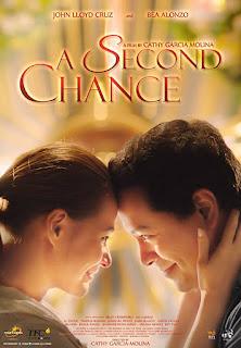 A Second Chance is a 2015 Filipino romantic drama film directed by Cathy Garcia Molina starring John Lloyd Cruz and Bea Alonzo.