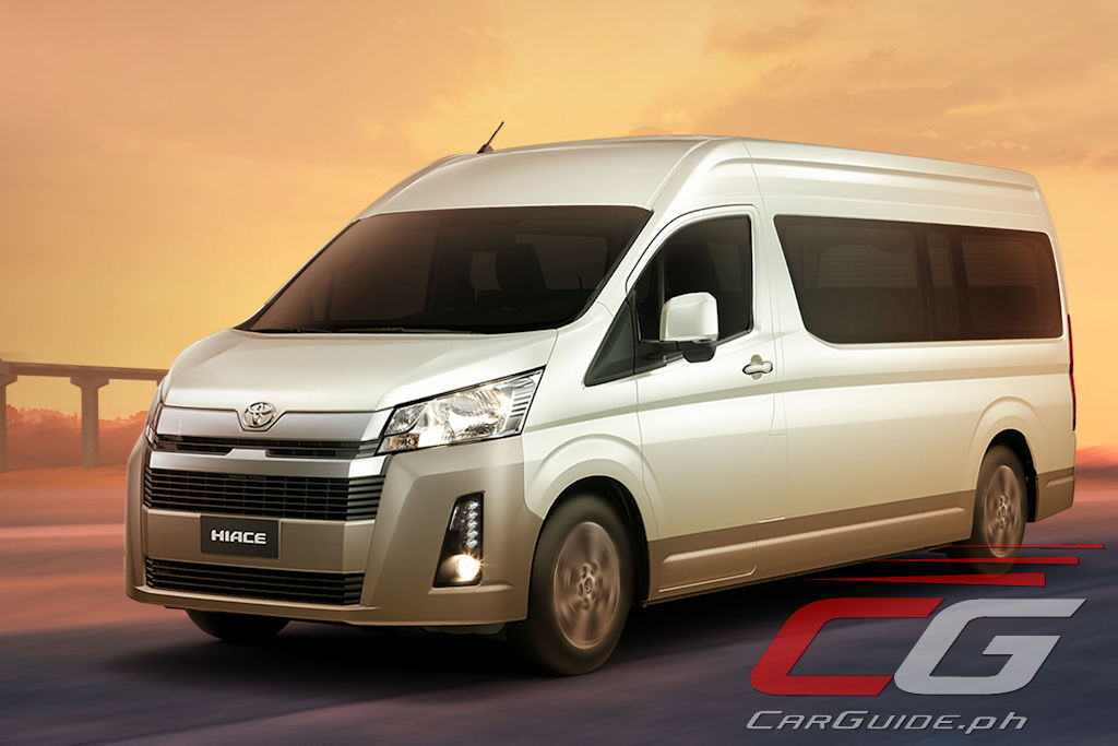 Toyota Philippines Launches All New 2020 Hiace W 37 Photos Specs