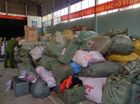 Bắt giữ 2 vụ vận chuyển hàng Trung Quốc nhập lậu ở Lạng Sơn