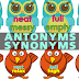 ANTONYMS and SYNONYMS (Ready-to-Print) High Quality!!
