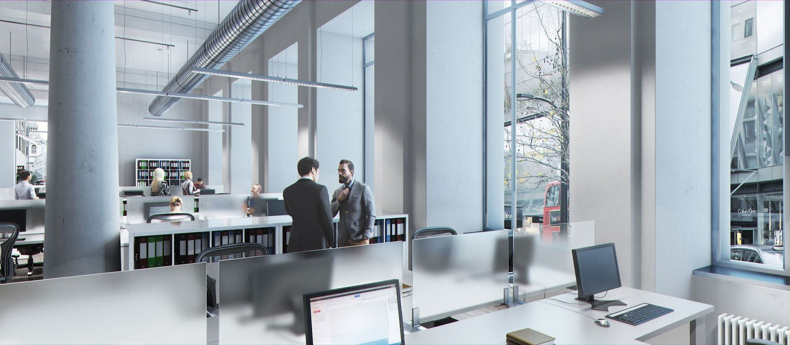 3ds max 3d data visualisation 3d images vray mental for Office einrichtung