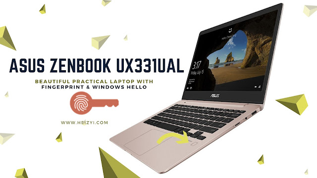 ASUS Zenbook UX311UAL Windows Hello Fingerprint
