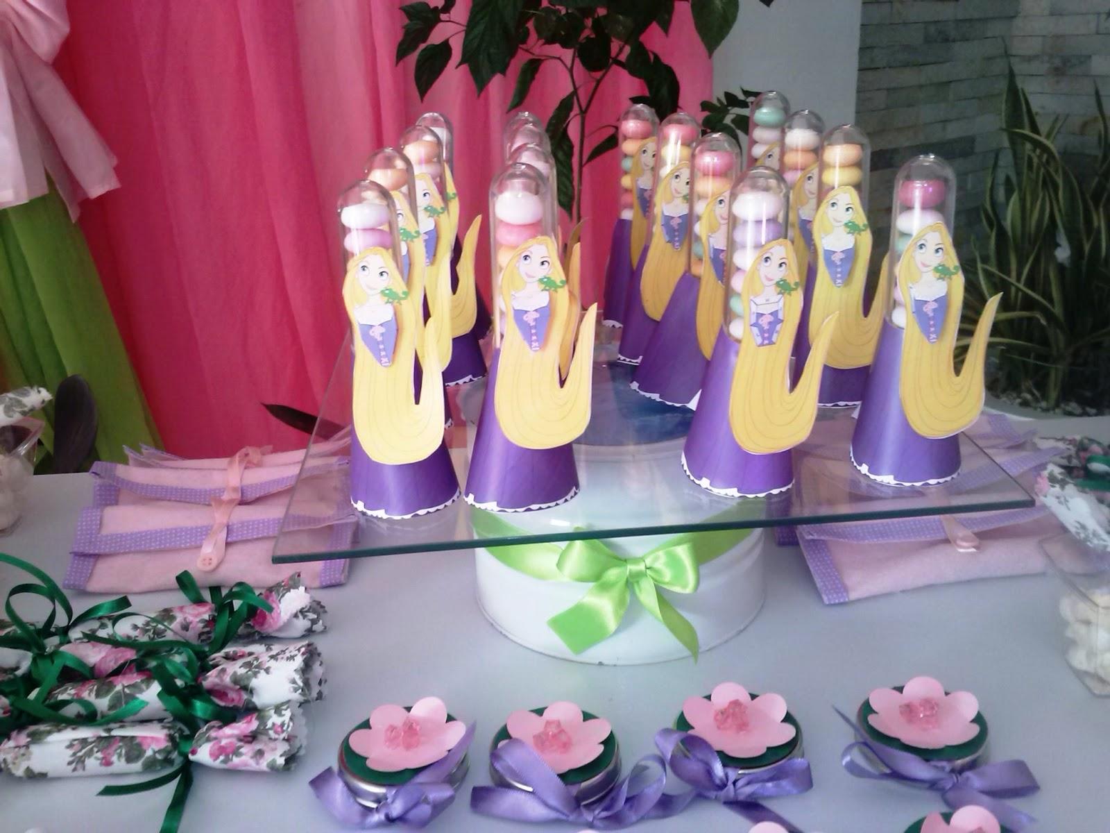Meio Ligado Tudo que voce precisa para montar sua festa  Rapunzel