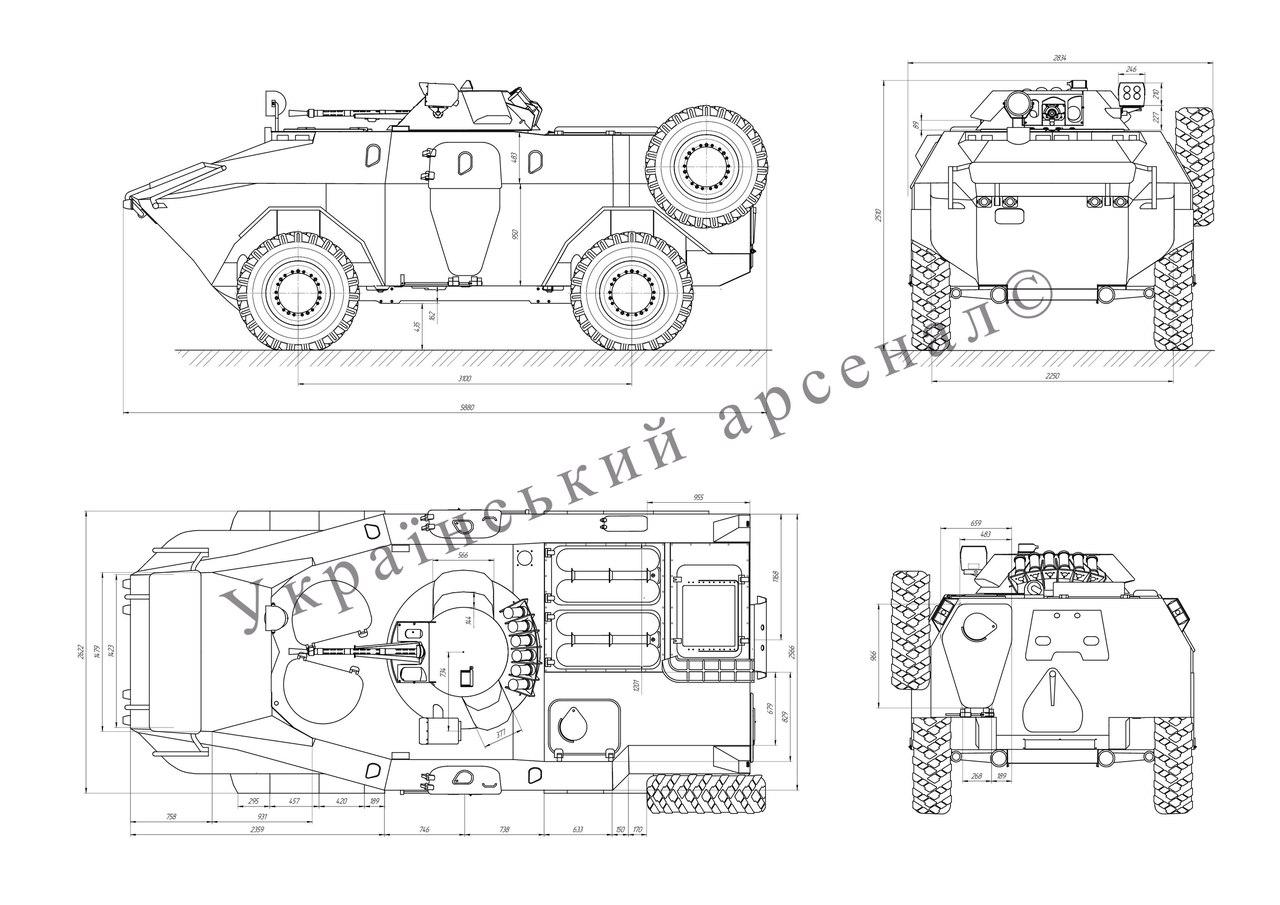 модернізована БРДМ-2